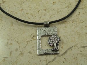 Tree of Life Pendant Antiqued (djs1)